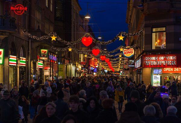 Les grandes villes du monde dans l'attente du miracle de Noël  - Sputnik France