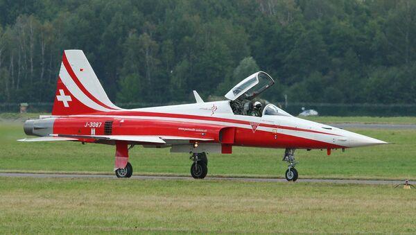 Un F-5E Tiger II suisse - Sputnik France