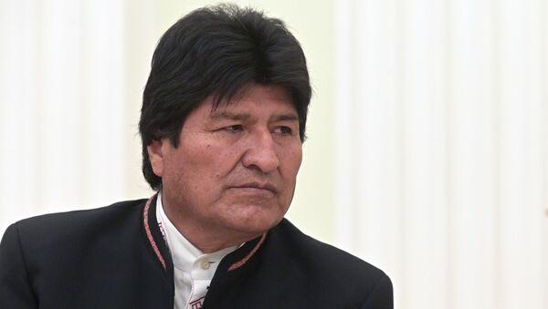 Evo Morales (archive photo) - Sputnik France