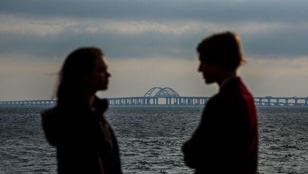 Pont de Crimée: le chantier de construction est terminé  - Sputnik France