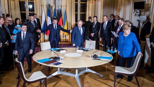 Le sommet au format Normandie - Sputnik France