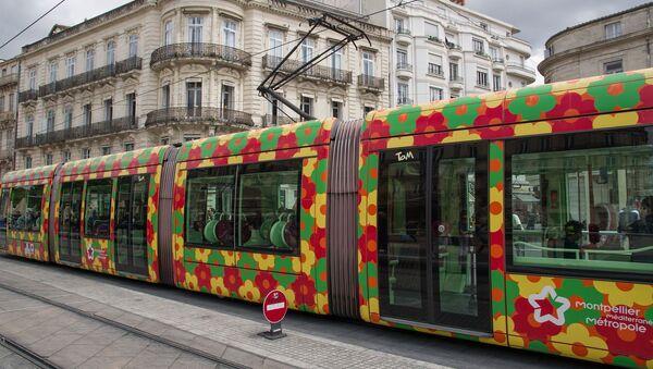 Un tramway à Montpellier - Sputnik France