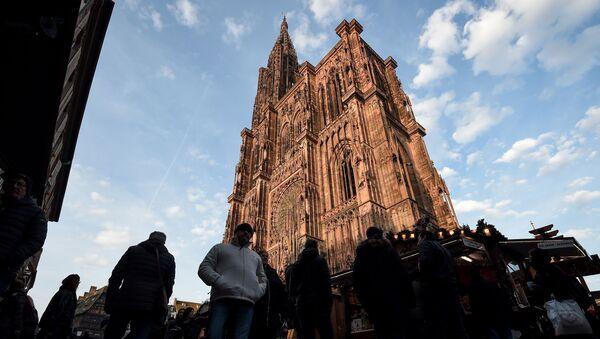 Marché de Noël de Strasbourg - Sputnik France