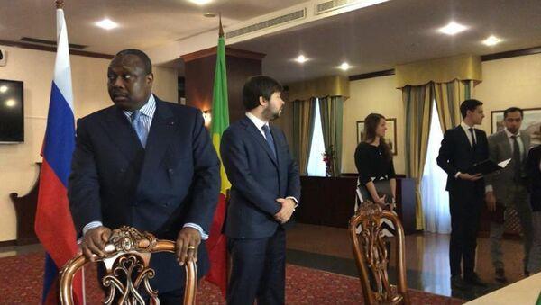 Jean-Jacques Bouya, ministre congolais de l'Aménagement, de l'Équipement du territoire et des Grands Travaux - Sputnik France