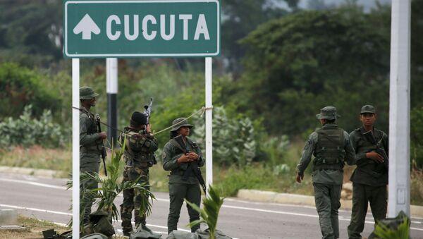 Militaires vénézuéliens - Sputnik France