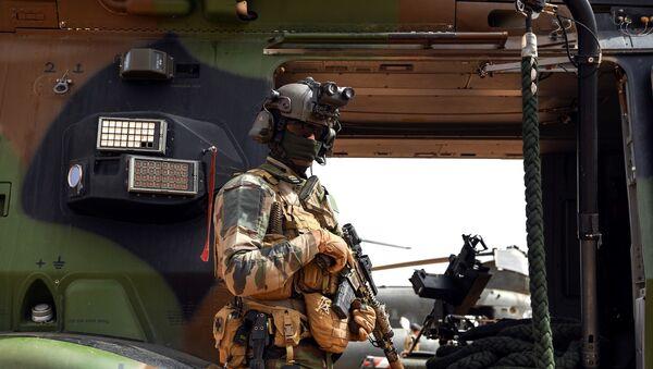Un soldat de l'opération Barkhane. - Sputnik France