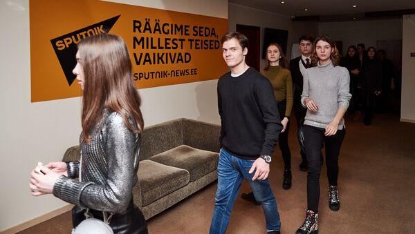 Dans les bureaux de Sputnik Estonie - Sputnik France