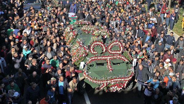 Les funérailles d'Ahmed Gaïd Salah - Sputnik France