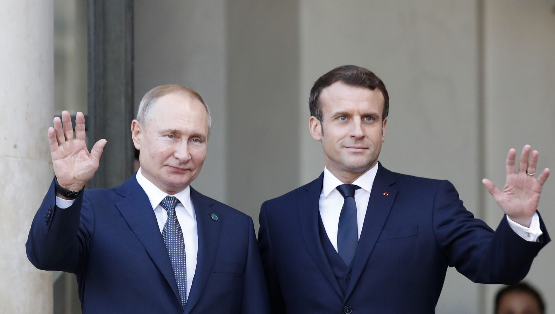 Vladimir Poutine et Emmanuel Macron - Sputnik France, 1920, 20.08.2021