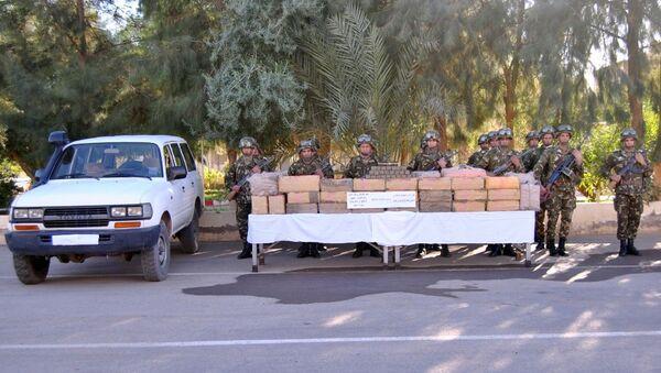 1,250 tonne de résine de cannabis saisie par l'armée algérienne à Béchar - Sputnik France