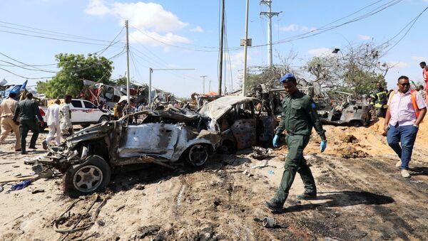 L'attentat à la voiture piégée à Mogadiscio le 28 décembre - Sputnik France