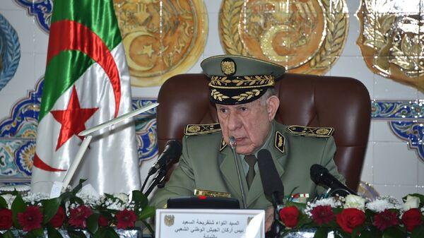 Le général-major Saïd Chengriha, chef d'état-major de l'Armée nationale populaire (ANP) algérienne - Sputnik France