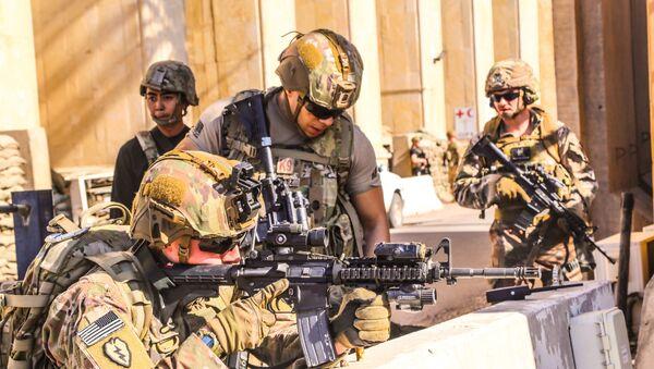 Soldats américains à Bagdad - Sputnik France