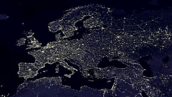 L'Europe vue de l'espace - Sputnik France