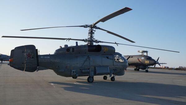 Un hélicoptère Ka-27M - Sputnik France