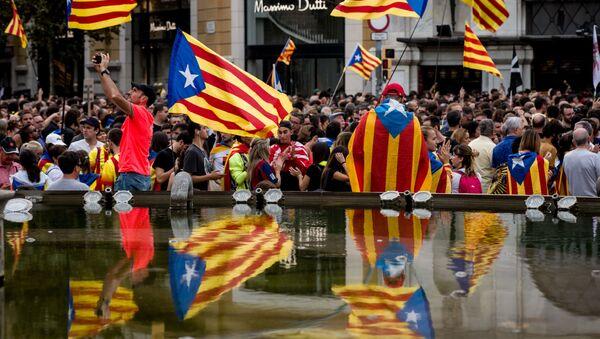 Protestas en Barcelona - Sputnik France