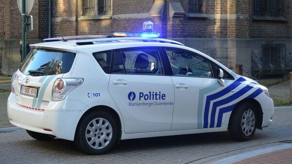 Une voiture de la police belge - Sputnik France