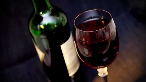 Un verre de vin - Sputnik France