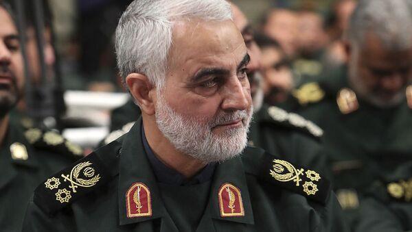 Le général Soleimani  - Sputnik France