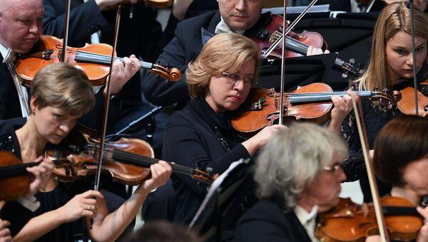 Un concert lors du festival Crescendo - Sputnik France