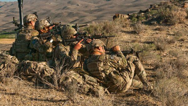 Des soldats de la 82e division aéroportée de l'Armée américaine - Sputnik France