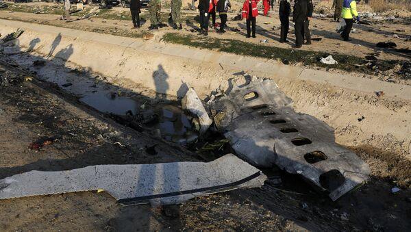 Crash du Boeing 737 de la compagnie Ukraine International Airlines en Iran - Sputnik France
