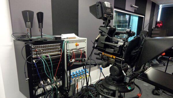 Un studio de télévision   - Sputnik France