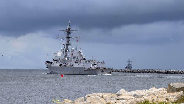 Le destroyer USS Farragut - Sputnik France