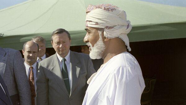 sultan Qabous ben Saïd  - Sputnik France