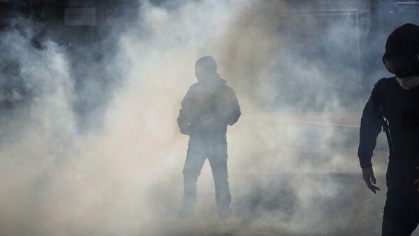 Du gaz lacrymogène, image d'illustration - Sputnik France