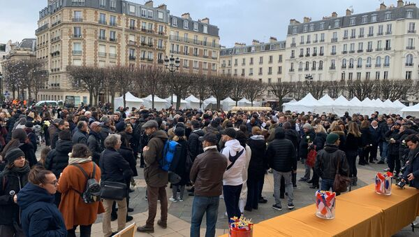 Livreur mort après son interpellation à Paris: une marche blanche à Levallois-Perret en son hommage - Sputnik France