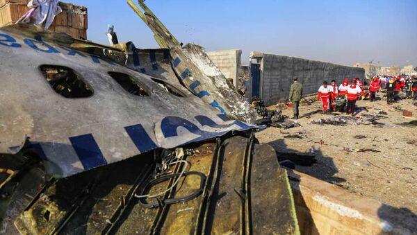 Crash du Boeing 737-800 de Ukraine Airlines International près de Téhéran - Sputnik France