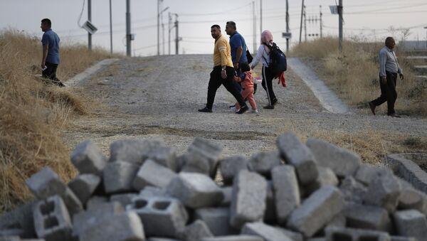 Des personnes en Syrie (photo d'archives) - Sputnik France
