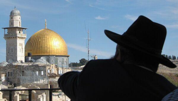 Un rabbin à Jérusalem (image d'illustration) - Sputnik France