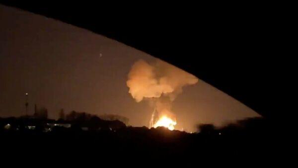 Explosion dans une usine chimique en Espagne - Sputnik France