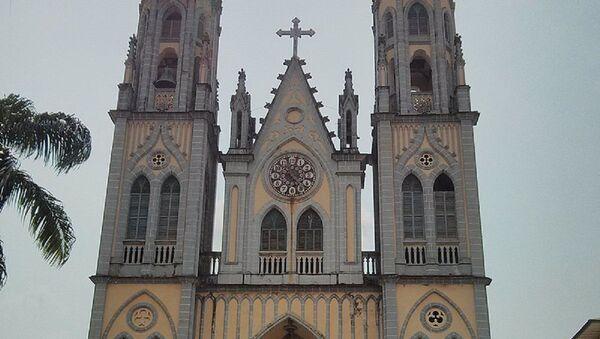 La cathédrale Sainte-Élisabeth de Malabo - Sputnik France