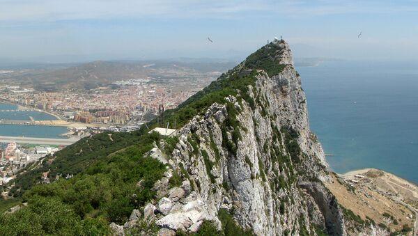 Vue panoramique vers le nord depuis le haut du Rocher de Gibraltar. - Sputnik France