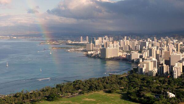 Waikiki view from Diamond Head - Oahu, Hawaii - Sputnik France