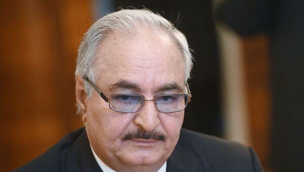 Le commandant de l'Armée nationale libyenne (ANL) maréchal Khalifa Haftar - Sputnik France