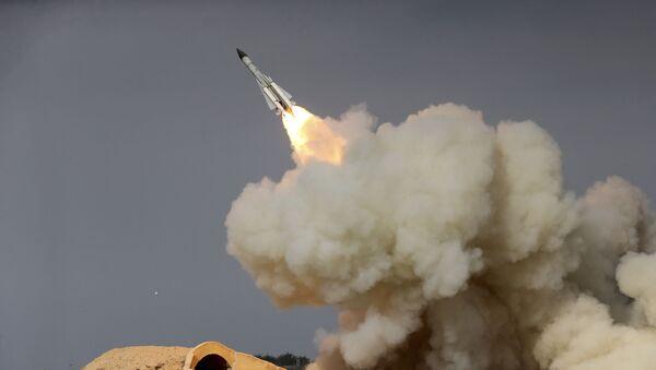 Запуск иранской ракеты дальнего радиуса действия S-200 - Sputnik France