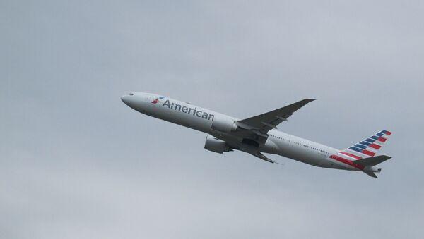 Un avion d'American Airlines  - Sputnik France
