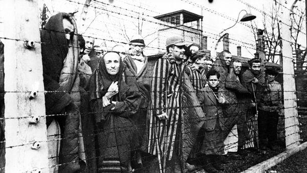 Auschwitz avant la libération par des troupes soviétiques  - Sputnik France
