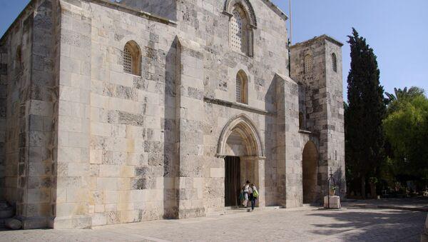la basilique Sainte-Anne, à Jérusalem. - Sputnik France