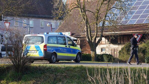 Une voiture de police près du lieu de la fusillade à Rot am See - Sputnik France