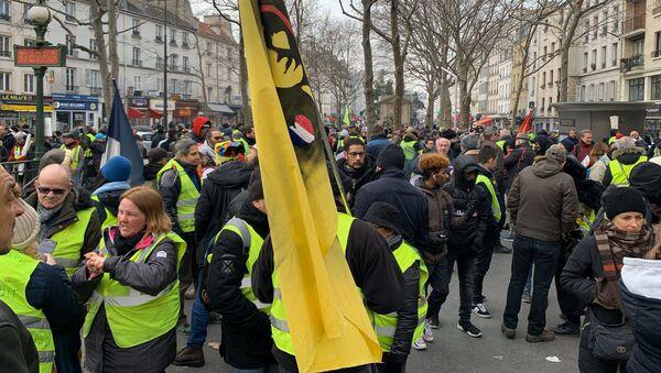 La 63e mobilisation des Gilets jaunes à Paris - Sputnik France