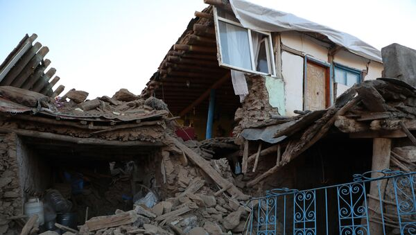 Un village complètement détruit par le séisme en Turquie - Sputnik France