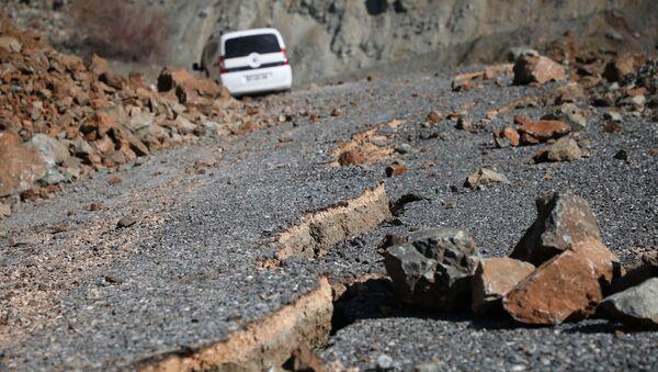 Conséquences du puissant séisme dans l'est de la Turquie, à Elazig - Sputnik France