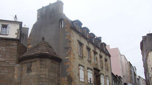 Maison de la Fontaine, quartier de Recouvrance, Brest. Il s'agit de l'une des plus vielles maisons de la ville. - Sputnik France