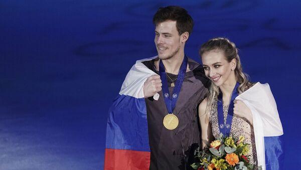 Victoria Sinitsina et Nikita Katsalapov - Sputnik France