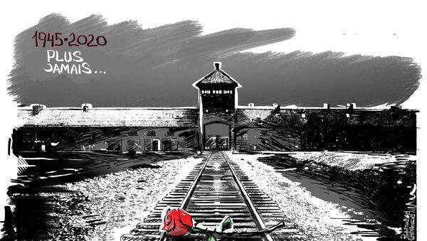 Journée internationale dédiée à la mémoire des victimes de l'Holocauste - Sputnik France